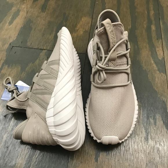 le adidas donne tubulare, alba browntan sz 8 poshmark